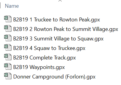 GPX Tracks & Route Files - Bones to Blue