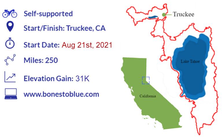 Bones to Blue Bikepacking Race